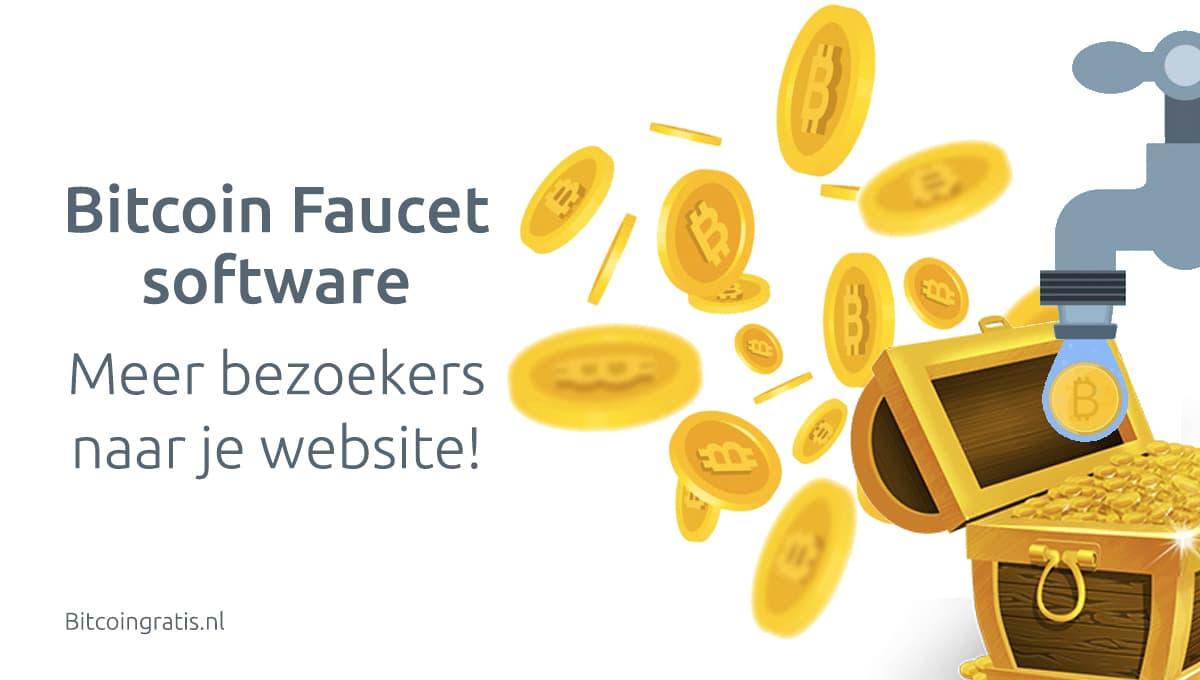 Bitcoin faucet software